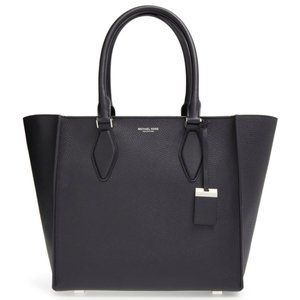 Michael Kors Collection Gracie navy large tote